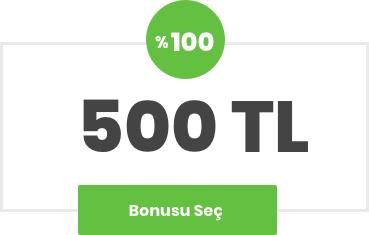 500 TL Bonus Bets10 da